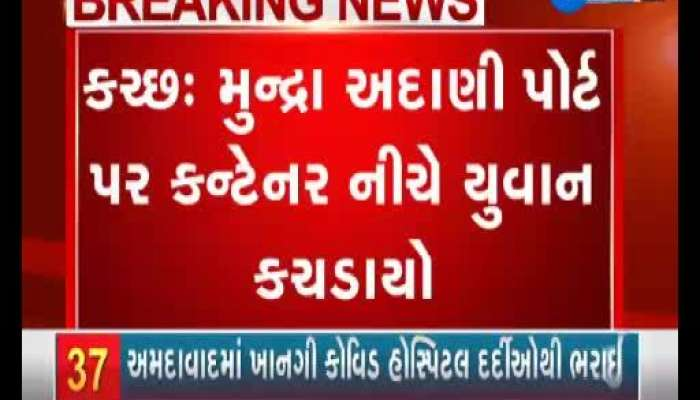 Young Crushed Under Container At Mundra Adani Port In Kutch