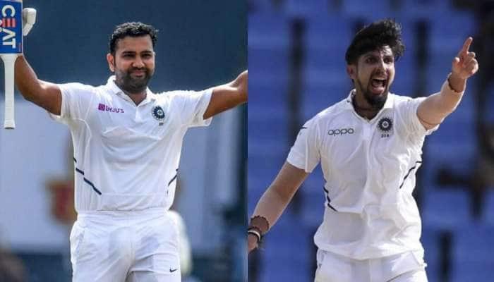 ટીમ ઈન્ડિયાને ઝટકો, ટીમ ઈન્ડિયાને ઝટકો, ઈશાંત અને રોહિત પ્રથમ બે ટેસ્ટમાંથી થયા બહારઃ રિપોર્ટ
