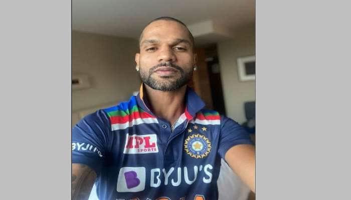 AUS vs IND: ટીમ ઈન્ડિયાની નવી જર્સી લોન્ચ, શિખર ધવને શેર કરી તસવીર