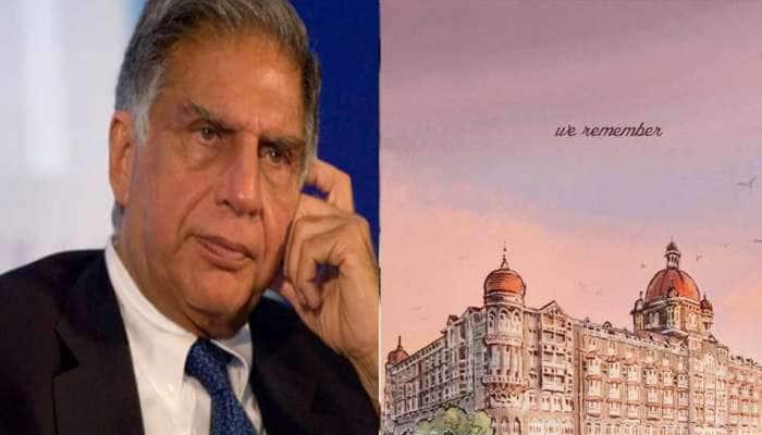 Mumbai Attackની વરસી પર Ratan Tataએ શેર કરી તાજ હોટલની પેઇન્ટિંગ, લખી ભાવુક પોસ્ટ