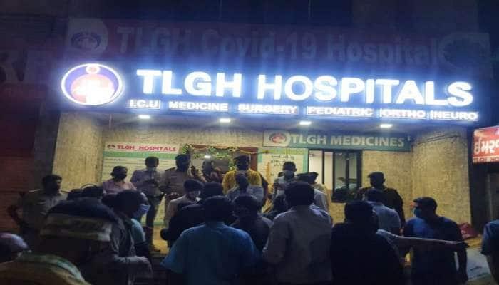 ચાંદખેડાની હોસ્પિટલમાં તોડફોડ મામલે 15 વ્યક્તિઓ વિરુદ્ધ રાયોટીંગનો ગુનો દાખલ