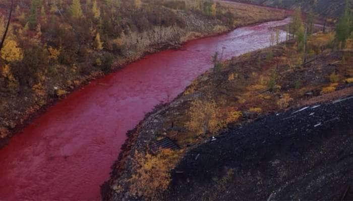 જૂનાગઢમાં વહે છે લાલ નદી! કારણ જાણીને તમે પણ ચોંકી ઉઠશો