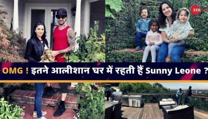 INSIDE PICS: આટલા આલીશાન ઘરમાં રહે છે બોલીવુડને 'બેબી ડોલ' Sunny Leone