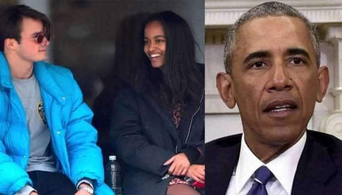 Barack Obama પુત્રી માલિયાના બોયફ્રેન્ડથી ભારે હેરાન પરેશાન, જાણો શું છે કારણ