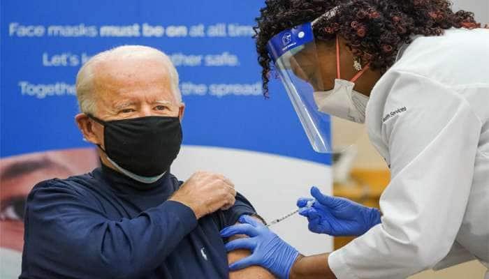 """Joe Bidenએ લાઈવ ટીવી પર લીધી Corona Vaccine, લોકોને કહ્યું- """"હવે ડરવાની જરૂર નથી"""""""