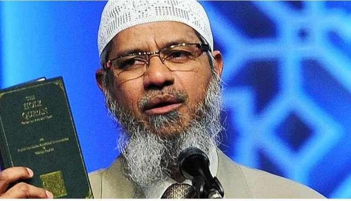 ભાગેડુ Zakir Naik એ ફરીથી ઝેર ઓક્યું, મંદિર તોડવાની નાપાક હરકતનું કર્યું સમર્થન
