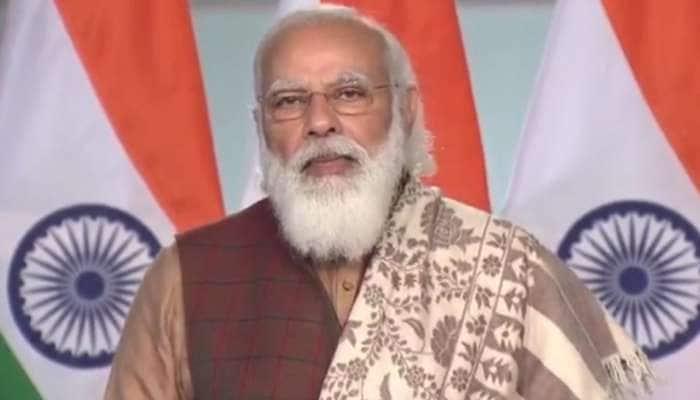 પ્રવાસી સંમેલન: અમેરિકી સંકટ વચ્ચે PM મોદીએ કહ્યું- ભારતનું લોકતંત્ર સૌથી જીવંત