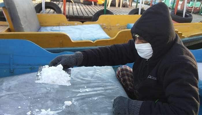 પાછો ફર્યો શિયાળો, માઉન્ટ આબુમાં માઈનસ 2 ડિગ્રી તાપમાનથી લોકો ફરી ઠુઠવાયા
