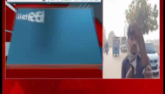 Viral Video Of Man Challenged The Police After Drunk In Banaskantha