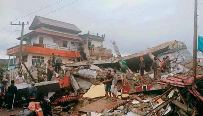 Earthquake: ઈન્ડોનેશિયામાં 6.2ની તીવ્રતાનો ભૂકંપ, અત્યાર સુધીમાં 7 લોકોના મૃત્યુ, અનેક ઘાયલ