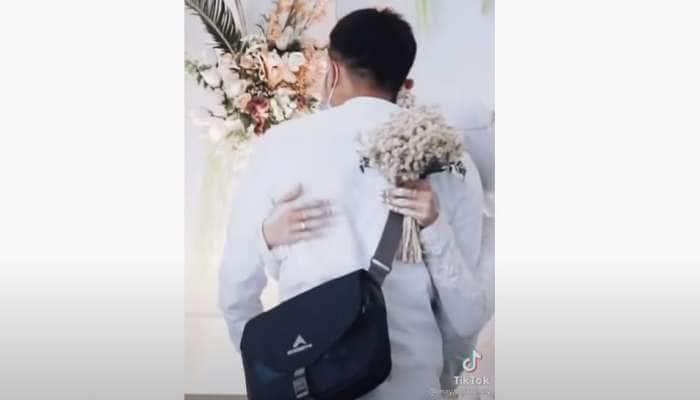 Viral Video: લગ્નમાં પહોંચ્યો Ex boyfriend, દુલ્હને ગળે લગાવી લીધો