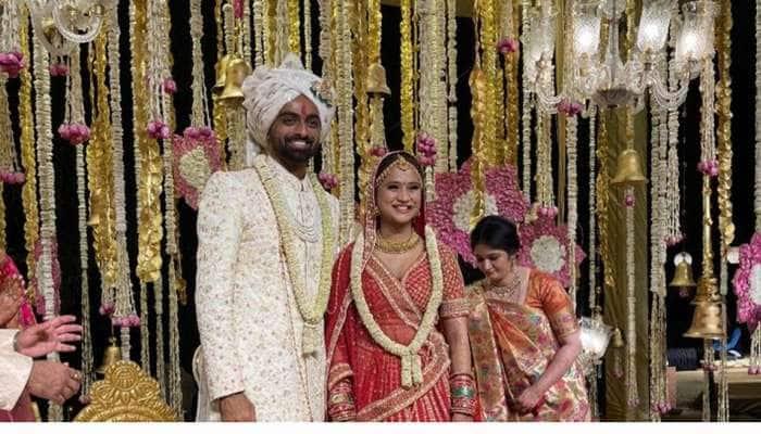 સૌરાષ્ટ્રના ધુરંધર ક્રિકેટર જયદેવ ઉનડકટે રિની સાથે કર્યા લગ્ન, જુઓ પ્રસંગની ખાસ તસવીરો