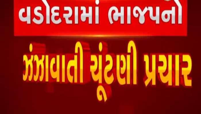 Elections Breaking: BJP's did election campaign as vast celebration in Vadodara