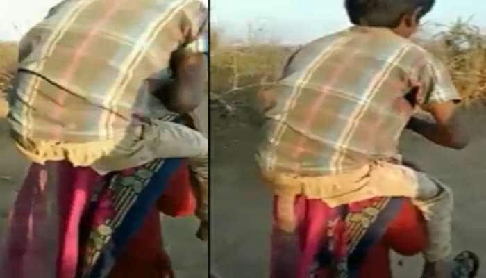 VIRAL VIDEO: પત્નીએ બીજા પુરુષ માટે પતિને છોડી દેતા મળી તાલિબાની સજા, 3ની ધરપકડ