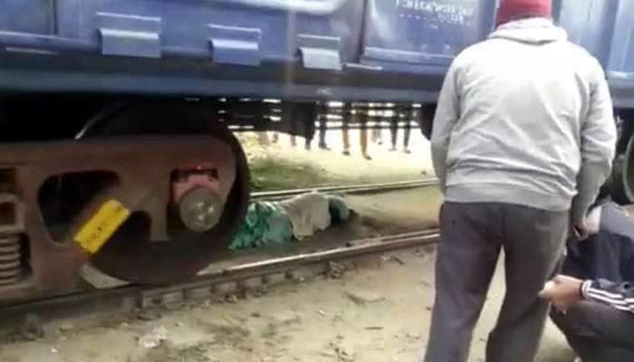Goods Train Passed: મહિલા ઉપરથી માલગાડીના 72 ડબ્બા ફરી વળ્યા, PHOTOS જોઈને જીવ તાળવે ચોંટી જશે