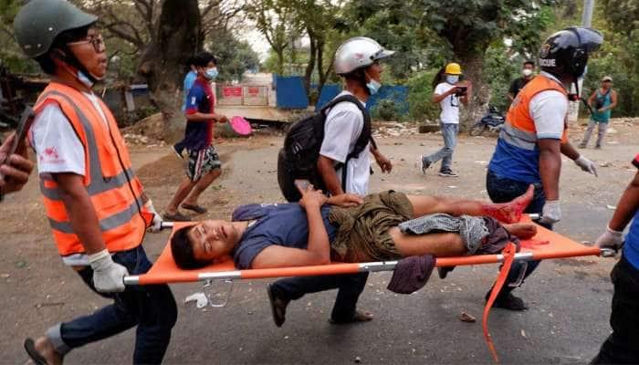 Myanmar Coup: મ્યાનમારમાં પ્રદર્શન કરી રહેલા લોકો પર પોલીસે ચલાવી ગોળીઓ, બે લોકોના મોત, અનેક ઈજાગ્રસ્ત