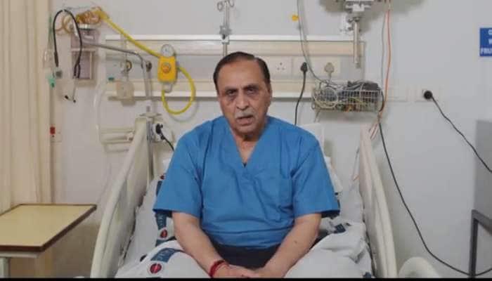 રાજકોટ મ્યુનિ. ચૂંટણી : કોરોનાગ્રસ્ત CM રૂપાણી રાજકોટમાં મતદાન કર્યા બાદ ફરી યુએન હોસ્પિટલમાં દાખલ થશે