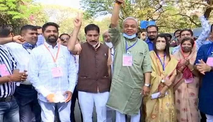 Live Result : જામનગરમાં બસપાએ છીનવ્યોભાજપનો ગઢ, તોશહેર કોંગ્રેસ પ્રમુખ દિગુભા જાડેજા હાર્યાં