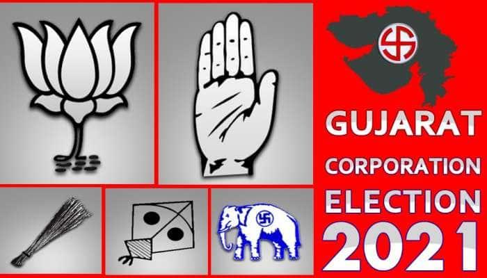Gujarat Municipal Election 2021: 6 મનપામાં ફરી ભાજપની ભવ્ય જીત, AAP અને AIMIM નો અપસેટ, કોંગ્રેસનાં સૂપડાં સાફ