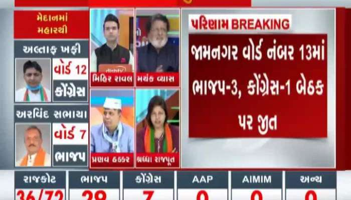 Experts Talk: Watch Zee 24 Kalak's Coverage of Local Government Election Results