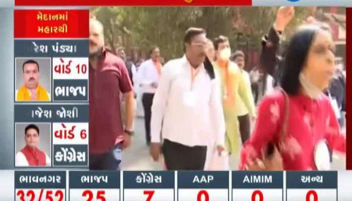 Election Result Breaking: Dispute in Gujarat College Ahmedabad on the day of election result