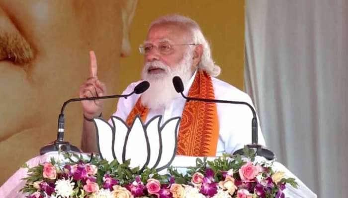 PM Modi એ ઉત્તર દક્ષિણવાળા નિવેદન પર રાહુલ ગાંધીને લીધા આડે હાથ, કહ્યું- ખોટું બોલવામાં ગોલ્ડ, સિલ્વર અને બ્રોન્ઝ વિજેતા
