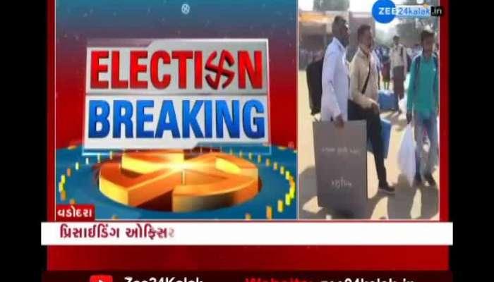 Vadodara: Collector Shalini Agarwal inspects election preparations