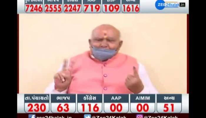 Election: Porbandar MP Ramesh Dhaduk casts his vote