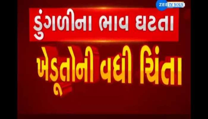 Falling onion prices in Rajkot have raised concerns among farmers