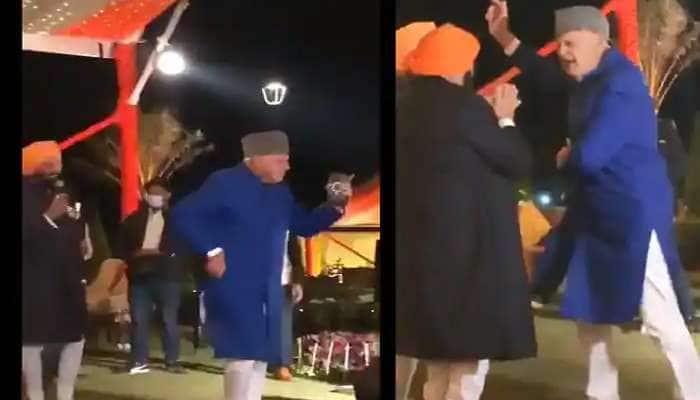 Viral Video: J&K ના પૂર્વ CM ફારૂક અબ્દુલ્લાનો 'ગુલાબી આંખે જો તેરી દેખી...' પર ડાન્સ કરતો વીડિયો વાયરલ
