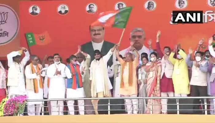 West Bengal Assembly Election 2021: ભાજપમાં જોડાતાની સાથે જ મિથુન ચક્રવર્તીએ આપ્યું મોટું નિવેદન, કહ્યું- કોઈ તમારો હક છીનવશે તો...