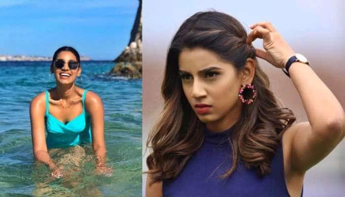 Sanjana Ganesan ની 10 ગ્લેમરસ તસવીરો, સુંદરતામાં હીરોઇન્સને આપે છે માત