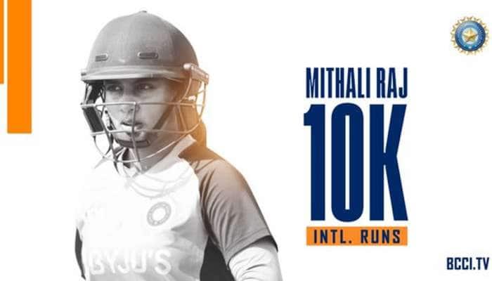 Mithali Raj નો મોટો રેકોર્ડ, ઈન્ટરનેશનલ ક્રિકેટમાં પૂરા કર્યા 10,000 રન