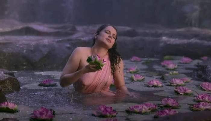 'Thalaivi' નું ટ્રેલર રિલીઝ, સ્ટેજ પર રડવા લાગી અભિનેત્રી કંગના રનૌત, જુઓ Video