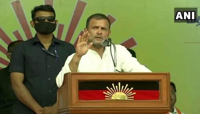 Tamilnadu: રાહુલ ગાંધી બોલ્યા- AIADMK ઉપર માસ્ક છે, તેને હટાવશો તો તમને સંઘ અને BJP નજર આવશે