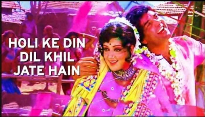 Holi Special: Bollywood ની ફિલ્મોમાં'રંગ બરસે' થી લઈને 'બલમ પિચકારી' સુધી છવાયેલો છે હોળીનો રંગ