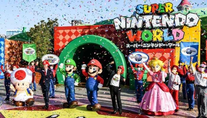 જાપાનમાં ખુલી ગયો છે Super Mario Park, આ પાર્કમાં વર્ચ્યુલી મારિયોની દુનિયા માણી શકશો