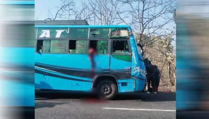 MP: ઉલટી આવી તો ચાલુ બસમાંથી બાળકીએ માથુ કાઢ્યુ બહાર, સામેથી આવતા ટ્રક સાથે ટકરાતા થઈ ગયું અલગ