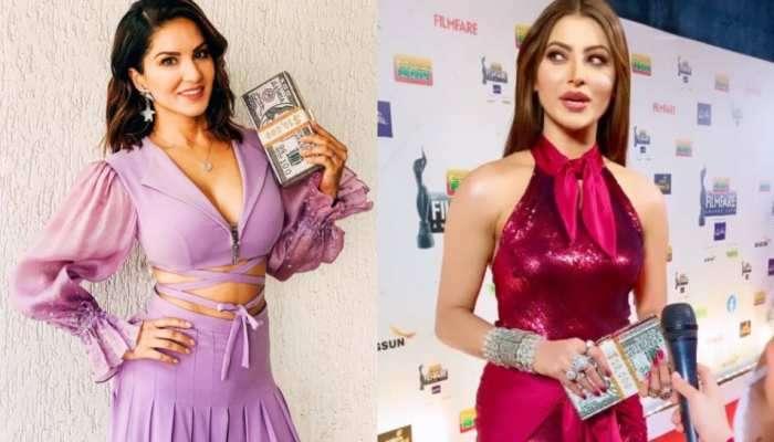 OMG! Urvashi Rautela બાદ હવે Sunny Leone હાથમાં જોવા મળી 'નોટોની ગડ્ડી'