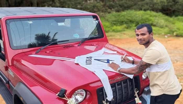Anand Mahindra એ પુરૂ કર્યુ વચન, ટી. નટરાજનને ભેટમાં મળી 'મહિન્દ્રા થાર', બોલરે આપી 'રિટર્ન ગિફ્ટ'