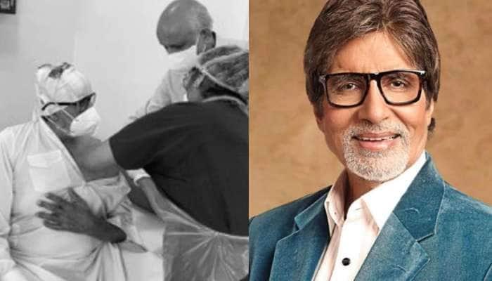 Amitabh Bachchan એ લીધો કોરોના રસીને પહેલો ડોઝ, જાણો શું કહ્યું?