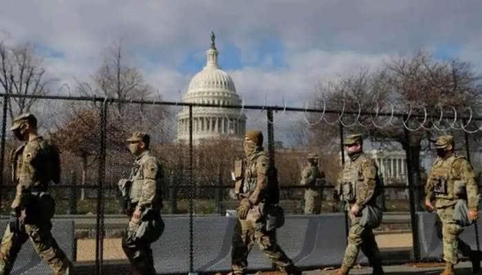 અમેરિકાની રાજધાનીમાં 'Lock Down', પોલીસે હિંસાના ભયથી Capitol Hill ને કર્યું બંધ