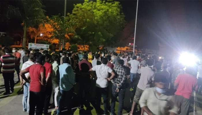 Police અને ભાજપના કાર્યકર્તાઓ વચ્ચે શરમ આવે તેવી બાથમબાથી સર્જાઇ,ભાજપના નેતાએ પોલીસવડાને ફોન પર ખખડાવ્યા
