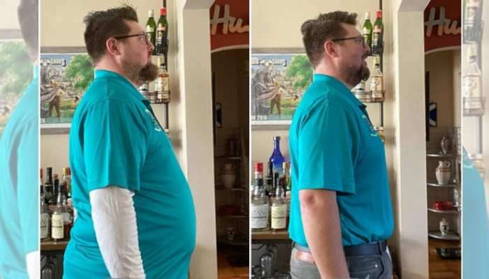 PHOTOS: લો બોલો...બધુ ખાવા પીવાનું છોડી માત્ર બીયર પીને આ વ્યક્તિએ 18KG વજન ઉતારી નાખ્યું
