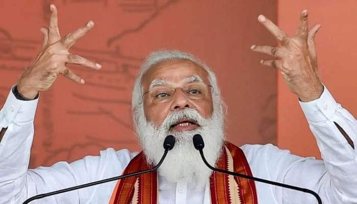 West Bengal Assembly poll 2021: PM મોદી બોલ્યા- બંગાળ અને નંદીગ્રામ જ નહીં, હવે તો 'નંદી' પણ દીદીથી નારાજ