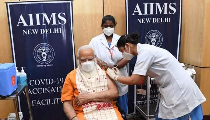 Corona: PM Modi એ કોરોના રસીનો બીજો ડોઝ લીધો, ટ્વીટ કરીને આપ્યો આ ખાસ સંદેશ