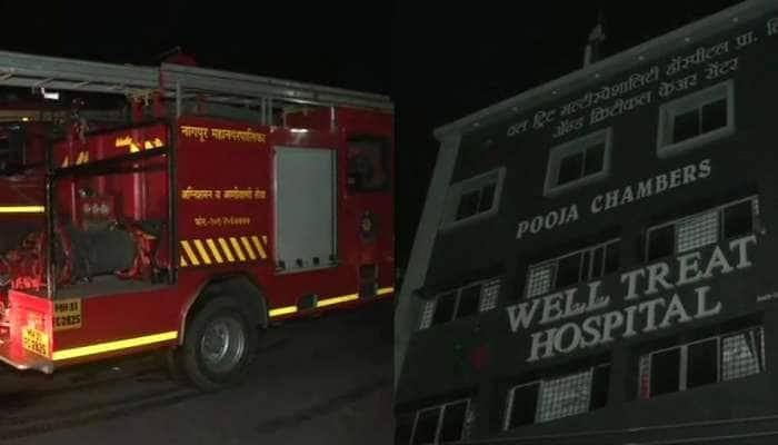 Nagpur: કોવિડ હોસ્પિટલના ICU વોર્ડમાં આગ લાગતાં 3ના મોત, PM મોદીએ વ્યક્ત કર્યું દુખ