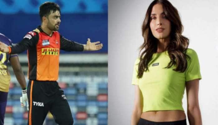 IPL 2021: Rashid Khan સાથે ઇન્સ્ટાગ્રામ પર ચર્ચામાં ઉતરી KKR ના ખેલાડીની પત્ની, આ હતું કારણ