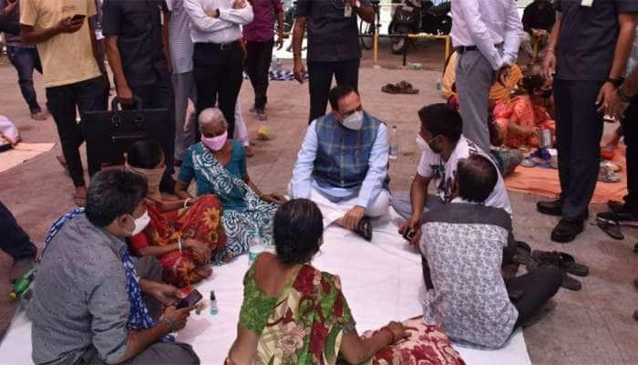CM રૂપાણી જામનગરની મુલાકાતે, દર્દીનાં સગા સંબંધી સાથે મુલાકાત કરી સાંત્વના પાઠવી