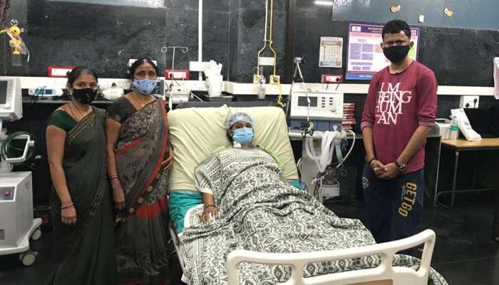 સ્મીમેર હોસ્પિટલે અશક્યને શક્ય કરી બતાવ્યું, એક મહિલાને યમરાજ પાસેથી છીનવી લાવ્યા